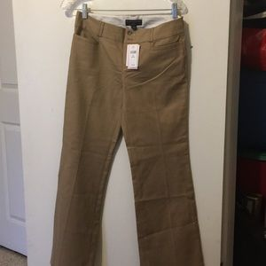 Banana Republic tan trousers